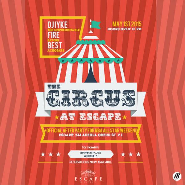 Circus at Escape - BellaNaija - April 2015001