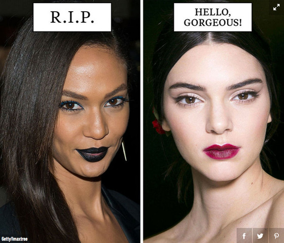 Cosmo Magazine Uses Black Women For Beauty Don Ts Amp White