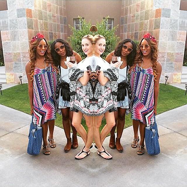 DJ Cuppy at Coachella 2015 9