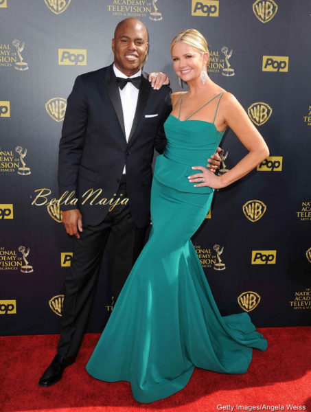 Kevin Frazier and Nancy O'Dell