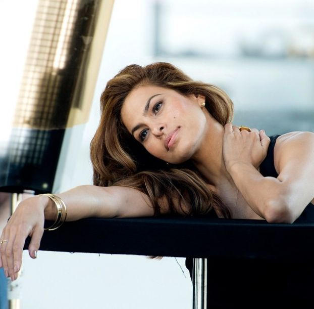 Eva Mendes as the Face of Esteé Lauder - BellaNaija - April2015