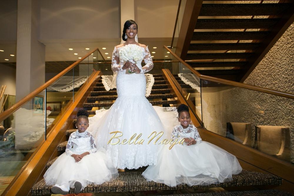 Bellanaija weddings presents ezinne uchenna s for Cheap wedding dresses in houston