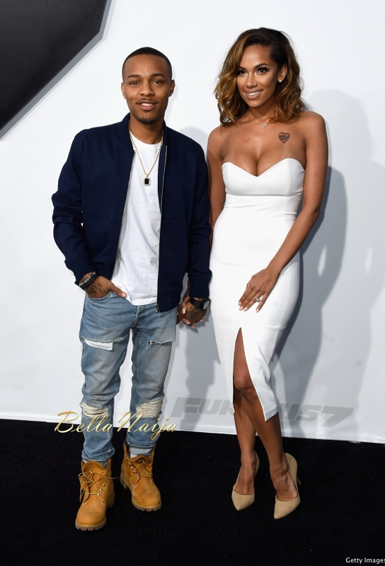 "Shad ""Bow Wow"" Moss and Erica Mena"