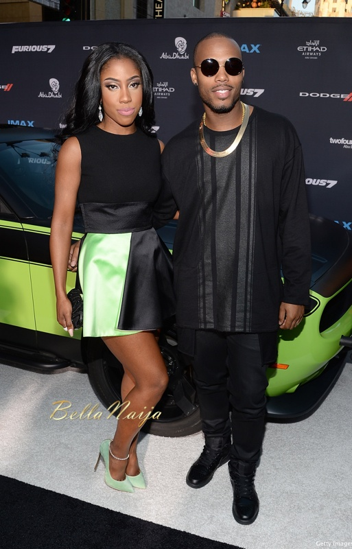 Sevyn Streeter (L) and B.o.B