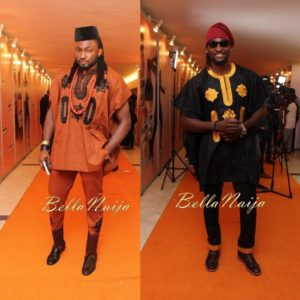 Gbenro Ajibade & Uti Nwachukwu at AY Live Happiness Edition 2015 comp