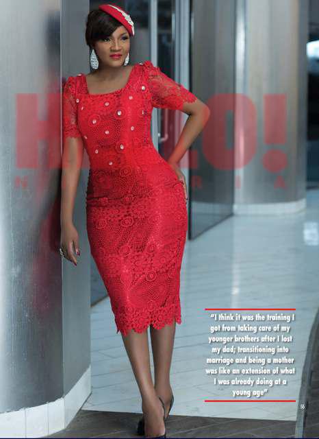 HELLO Nigeria Omotola Jalade-Ekeinde - April 2015 2