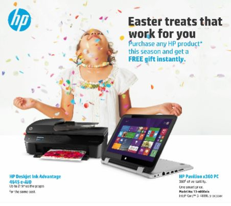 HP Easter Promotion - BellaNaija - March 2015