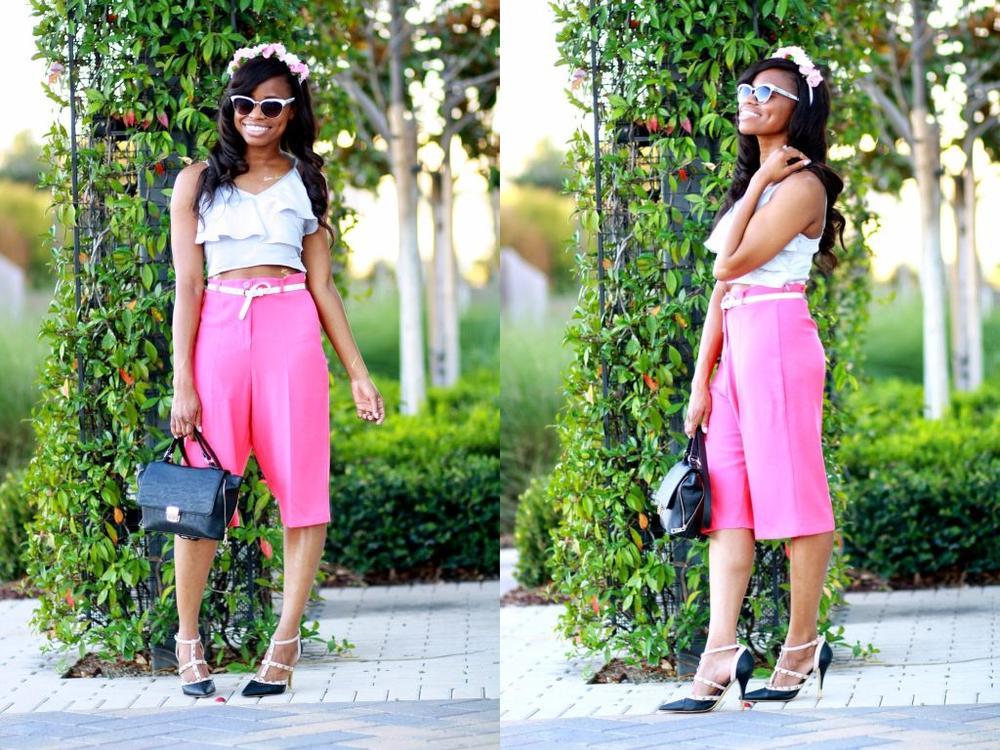 How to Wear Culottes - BellaNaija - April20150015