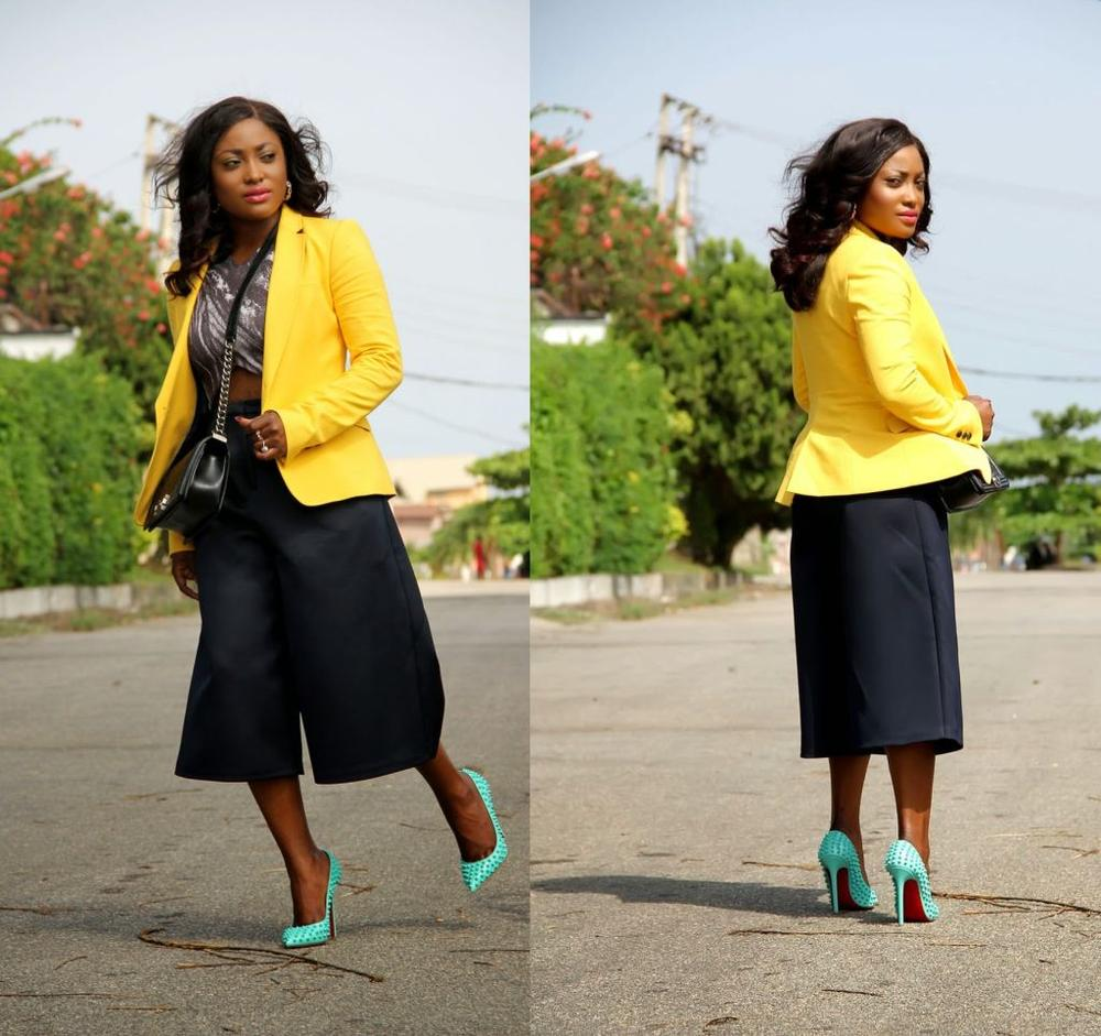 How to Wear Culottes - BellaNaija - April20150018