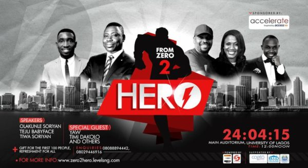 ZeroHero Conference - Bellanaija- April 2015
