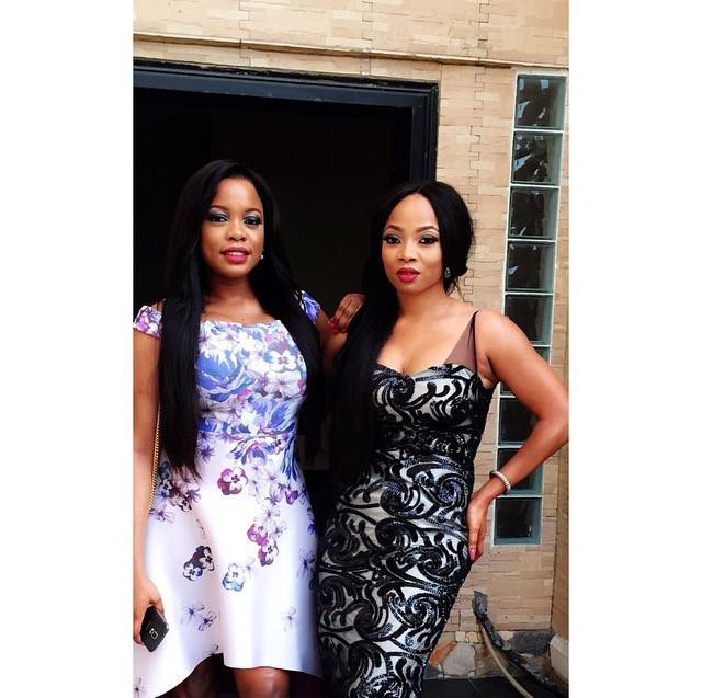 Arese Ugwu & Toke Makinwa