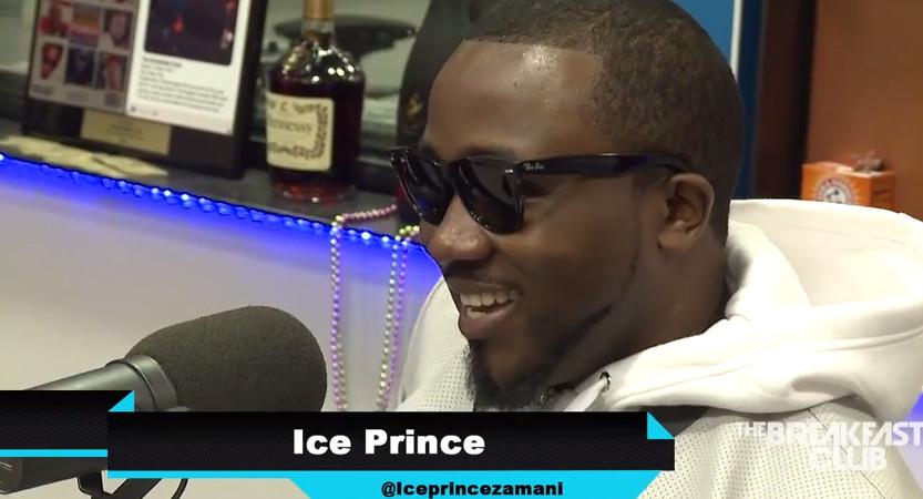 Ice Prince on The Breakfast Club Power - April 2015 - BellaNaija.com 01