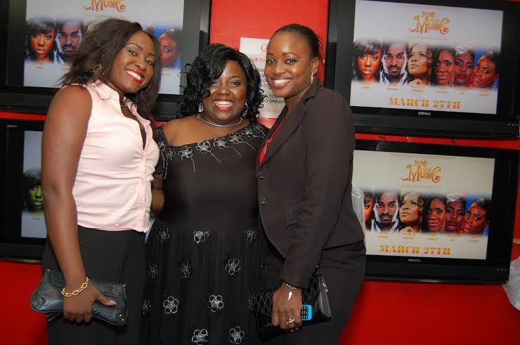 Ada Osuwah, Afurobi Oluchi & Lindsey Efejuku (1st Assistant Director)