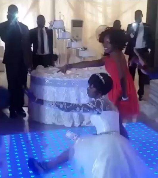 Ivie Okujaye split wedding