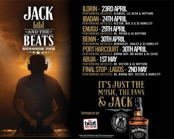 Jack Daniels Nationwide Tour  - BellaNaija - April 2015001