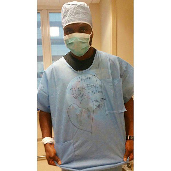 Joseph Yobo Baby Jayden 2015 BellaNaija