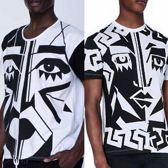 Kesh Versace Shirt - Bellanaija - March 2015