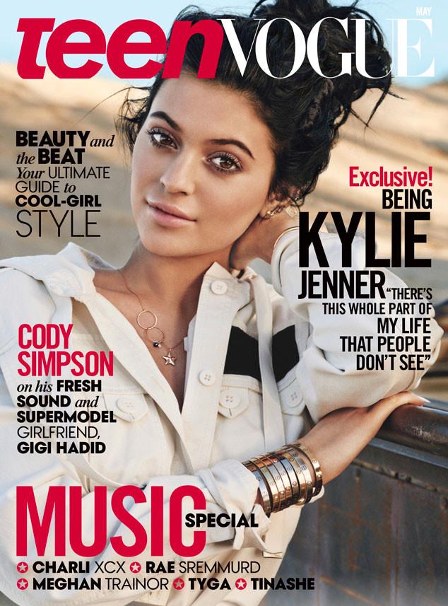 Kylie Jenner for Teen Vogue - BellaNaija - April2015
