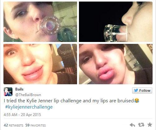 KylieJennerChallenge - BellaNaija - April2015001