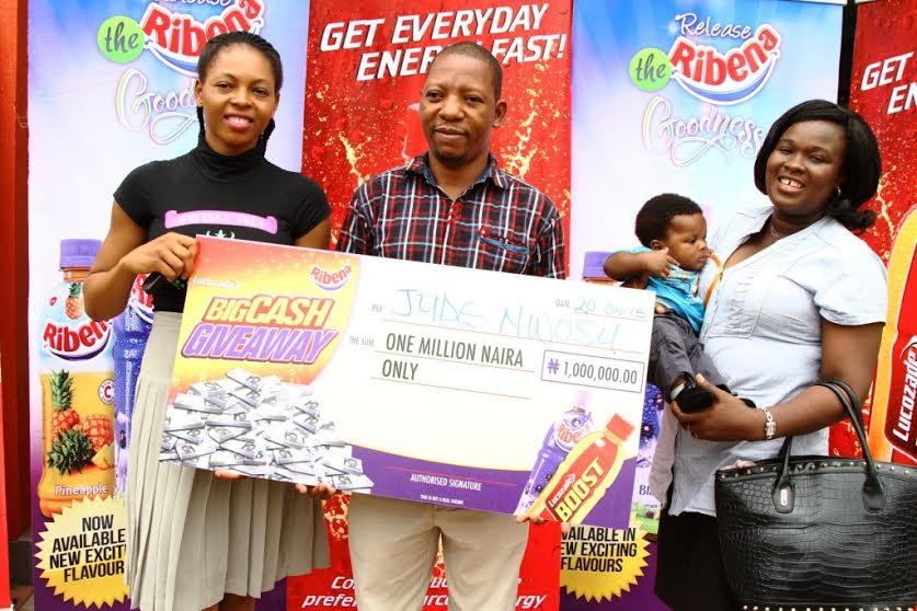 Lucozade Ribena Big Cash Giveaway Promo Winners - BellaNaija - April2015003