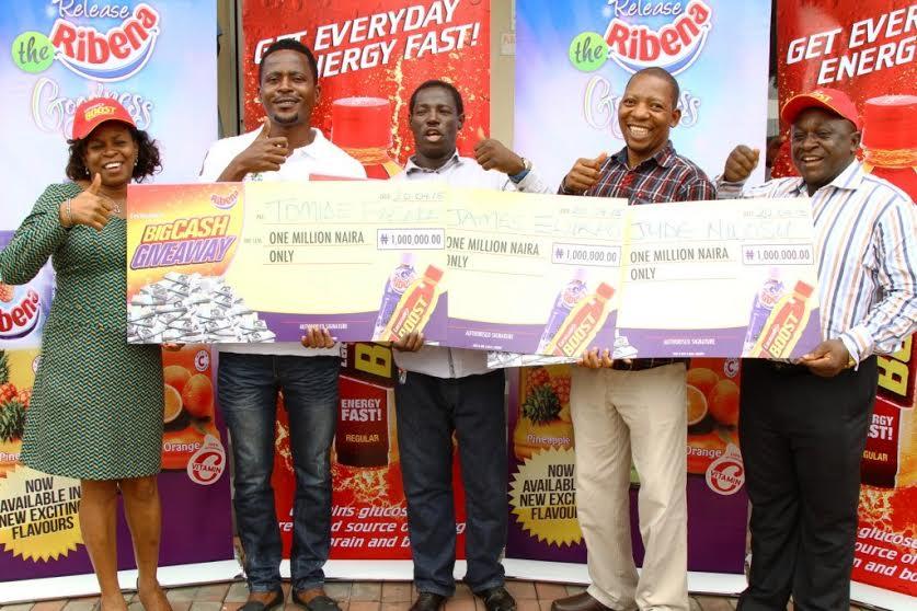 Lucozade Ribena Big Cash Giveaway Promo Winners - BellaNaija - April2015004