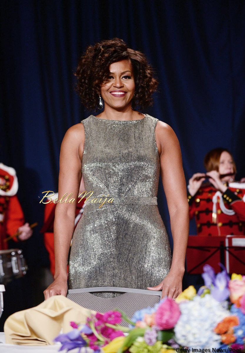 Michelle Obama Beauty Focus White House Correspondents Dinner - Bellanaija - April2015001