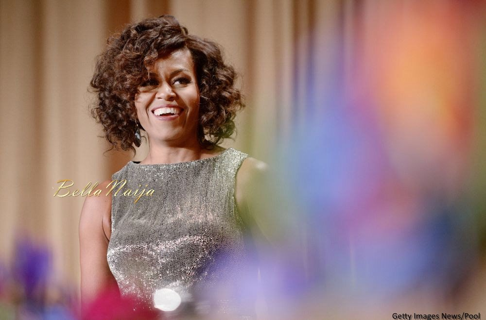 Michelle Obama Beauty Focus White House Correspondents Dinner - Bellanaija - April2015003