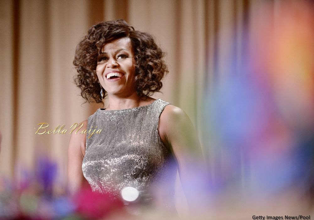Michelle Obama Beauty Focus White House Correspondents Dinner - Bellanaija - April2015004