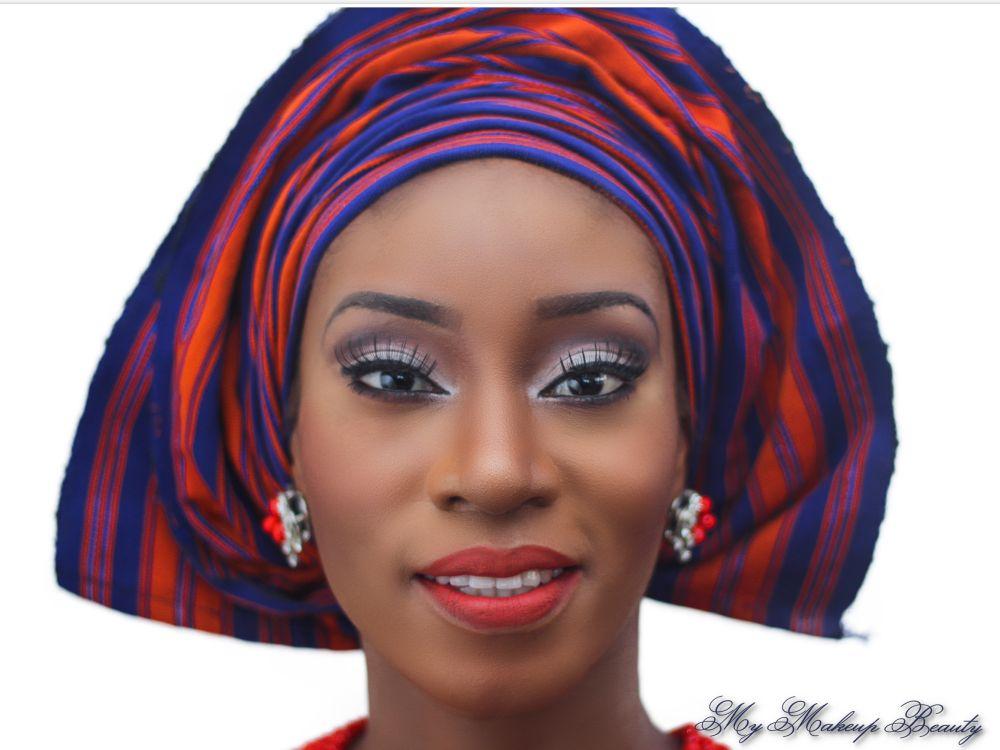 MyMakeupNG Traditional Yoruba Makeup Inspiration - Bellanaija - April2015002