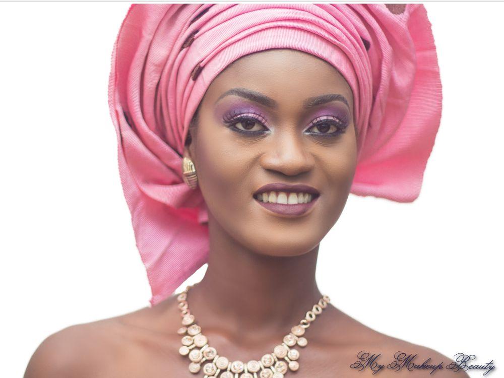 MyMakeupNG Traditional Yoruba Makeup Inspiration - Bellanaija - April2015003