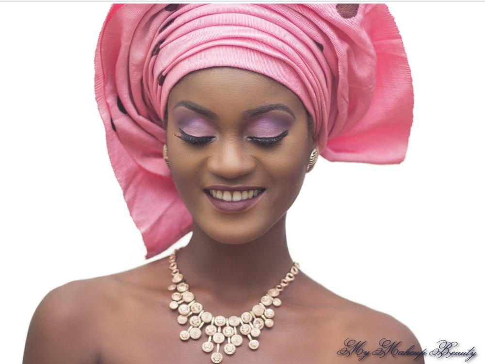 MyMakeupNG Traditional Yoruba Makeup Inspiration - Bellanaija - April2015004