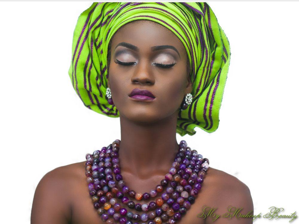 MyMakeupNG Traditional Yoruba Makeup Inspiration - Bellanaija - April2015005