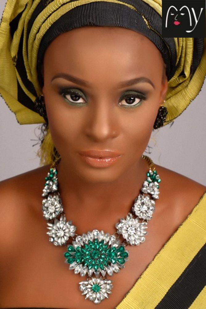 MyMakeupNG Traditional Yoruba Makeup Inspiration - Bellanaija - April2015013