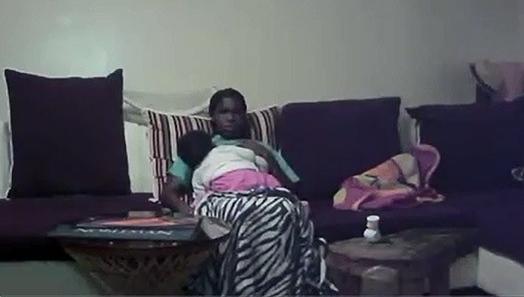 Lesbian on hidden camera