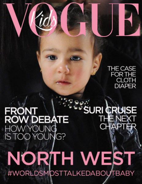 North West for Vogue Kids - BellaNaija - April 2015