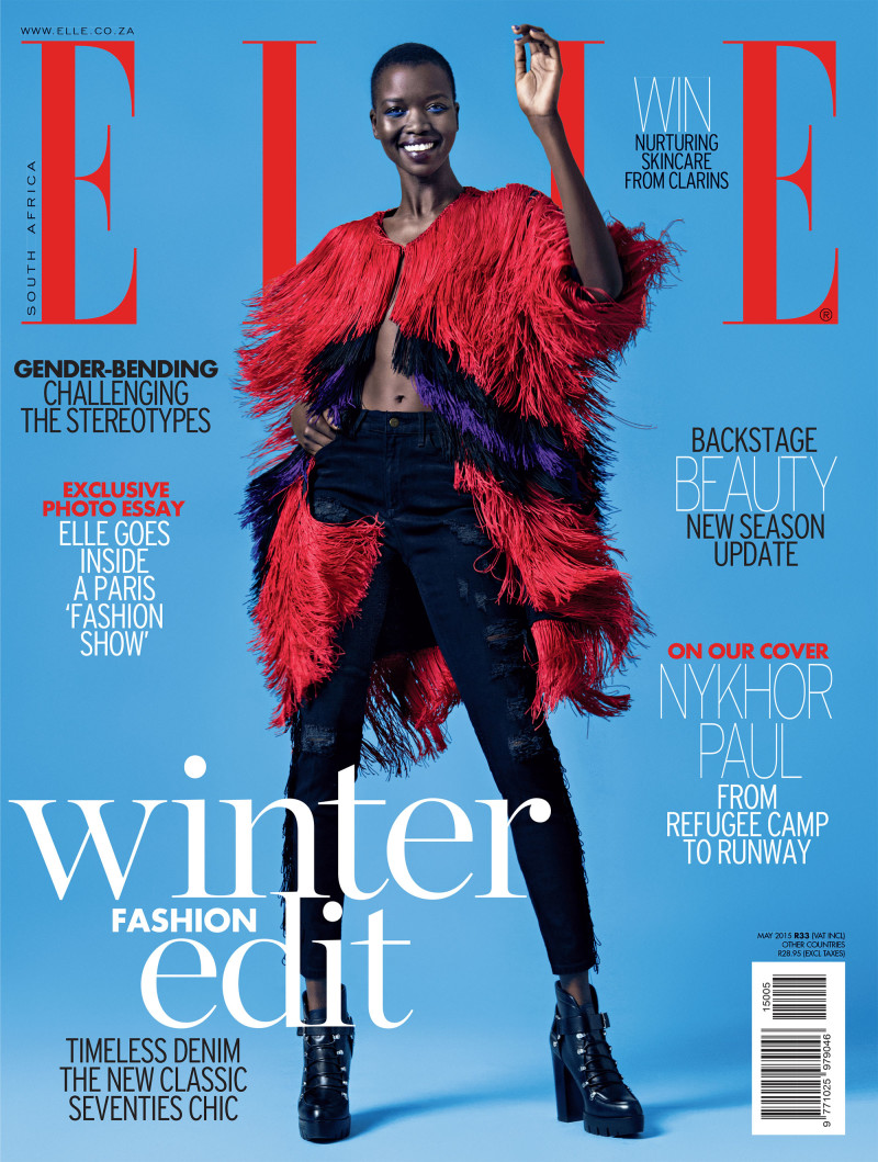 Nykhor Paul for Elle South Africa May 2015 - BellaNaija - April2015