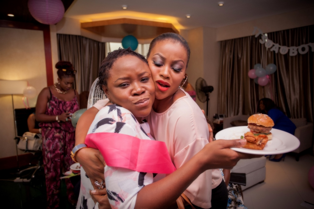 Omawumi's Baby Shower - April 2015 - InterContinental Hotel Lagos, Nigeria - BellaNaija011