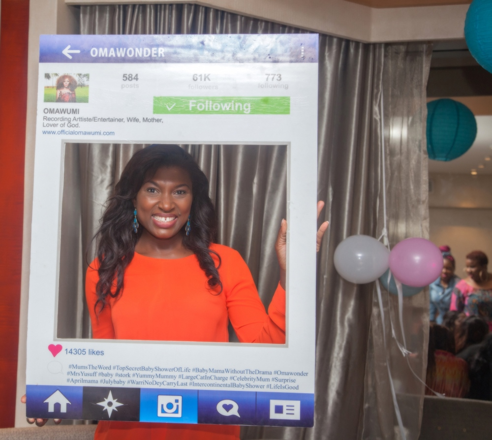 Omawumi's Baby Shower - April 2015 - InterContinental Hotel Lagos, Nigeria - BellaNaija017