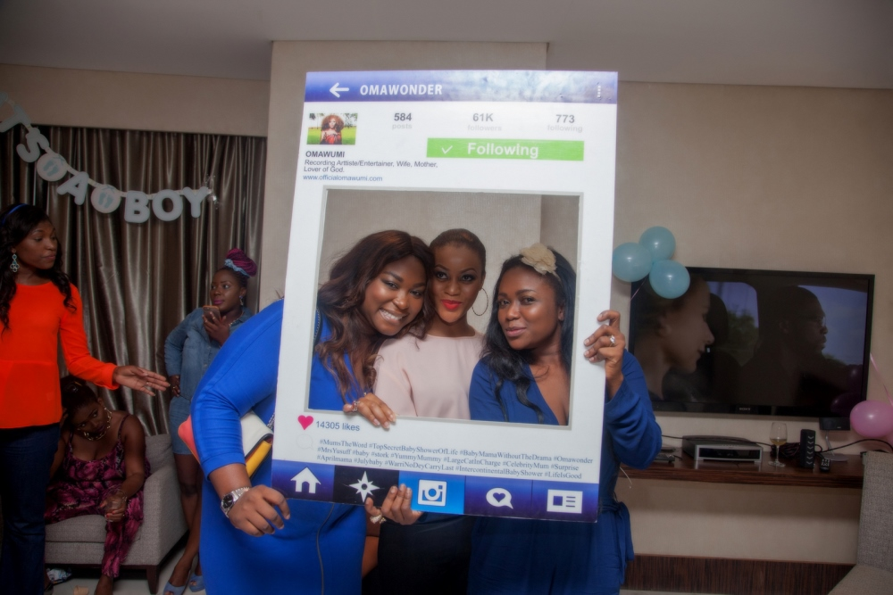 Omawumi's Baby Shower - April 2015 - InterContinental Hotel Lagos, Nigeria - BellaNaija018