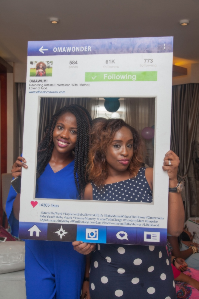 Omawumi's Baby Shower - April 2015 - InterContinental Hotel Lagos, Nigeria - BellaNaija020