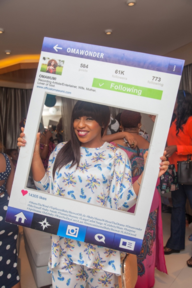 Omawumi's Baby Shower - April 2015 - InterContinental Hotel Lagos, Nigeria - BellaNaija028