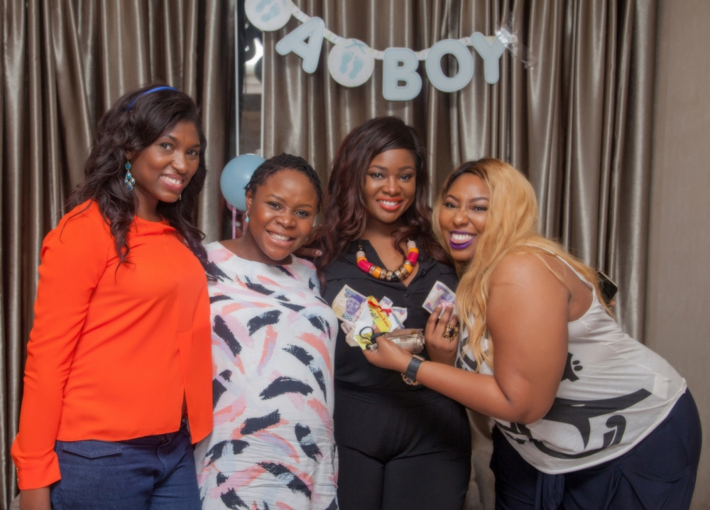 Omawumi's Baby Shower - April 2015 - InterContinental Hotel Lagos, Nigeria - BellaNaija030