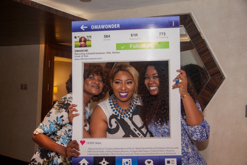 Omawumi's Baby Shower - April 2015 - InterContinental Hotel Lagos, Nigeria - BellaNaija040