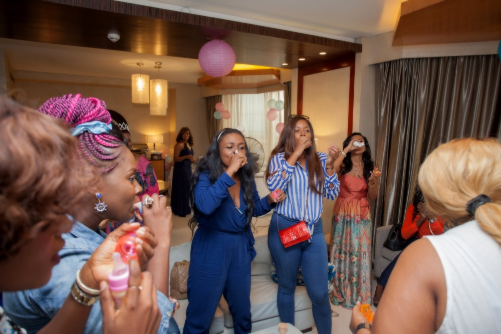Omawumi's Baby Shower - April 2015 - InterContinental Hotel Lagos, Nigeria - BellaNaija044