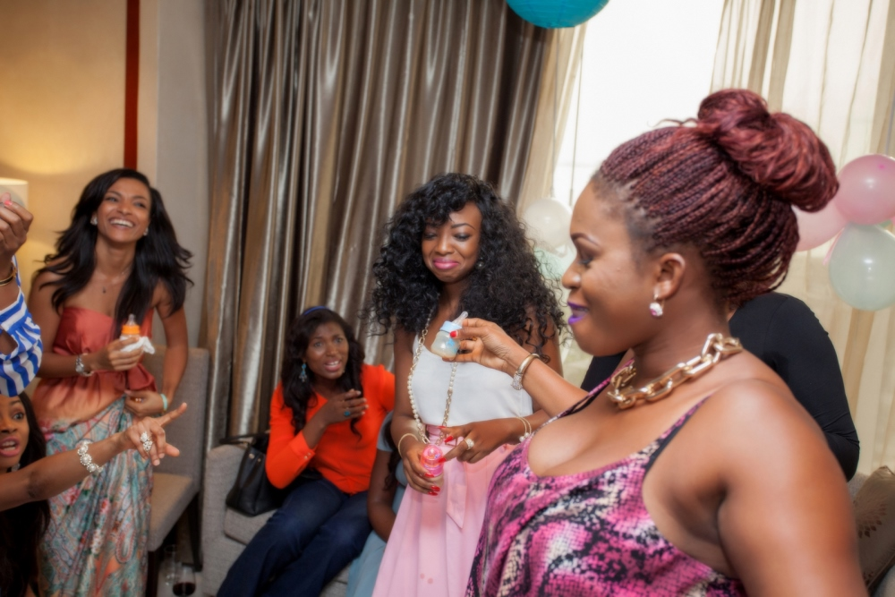 Omawumi's Baby Shower - April 2015 - InterContinental Hotel Lagos, Nigeria - BellaNaija045