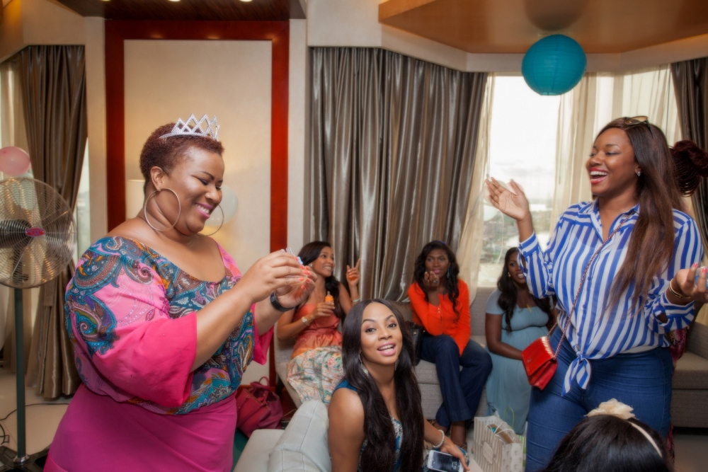 Omawumi's Baby Shower - April 2015 - InterContinental Hotel Lagos, Nigeria - BellaNaija047