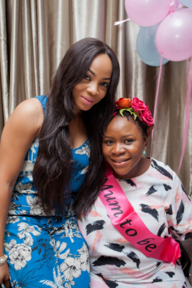 Omawumi's Baby Shower - April 2015 - InterContinental Hotel Lagos, Nigeria - BellaNaija048