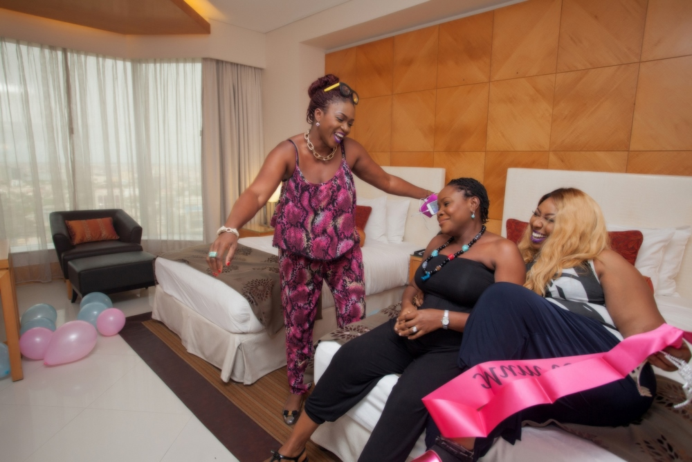 Omawumi's Baby Shower - April 2015 - InterContinental Hotel Lagos, Nigeria - BellaNaija056