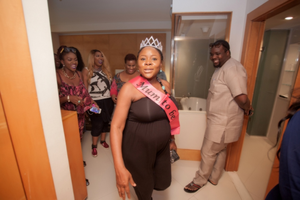 Omawumi's Baby Shower - April 2015 - InterContinental Hotel Lagos, Nigeria - BellaNaija058