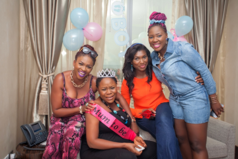 Omawumi's Baby Shower - April 2015 - InterContinental Hotel Lagos, Nigeria - BellaNaija059